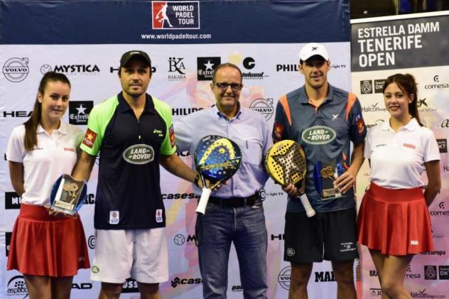 Ganadores del Worl Padel Tour Tenerife