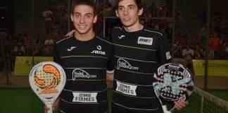 Martín Di Nenno y Franco Stupaczuk