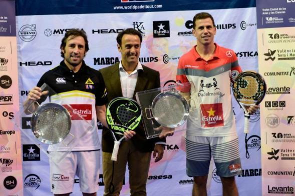 Ganadores del World Padel Tour Valencia