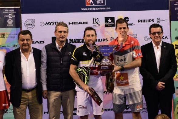 Ganadores del World Padel Tour San Fernando