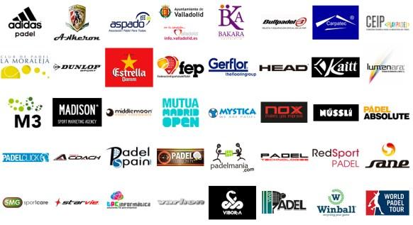 Colaboradores del Padel Pro Show 2015