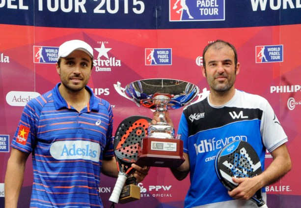 Ganadores World Padel Tour 2015 Palma