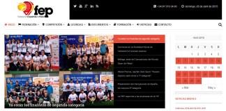 Renovación página web Federación Española de Pádel