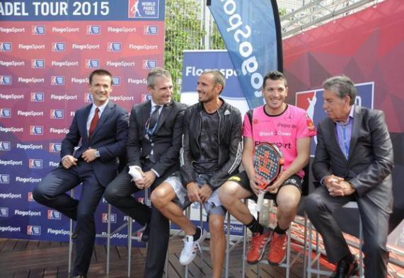 FlogoSport patrocinador World Padel Tour 2015