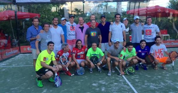 Participantes de la 2nd International Padel Exhibition