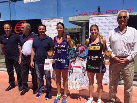 Ganadoras del Campeonato de España Absoluto 2015