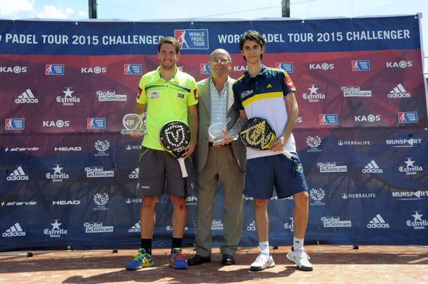 Ganadores World Padel Tour 2015 Cordoba