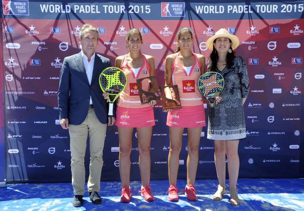 Ganadoras World Padel Tour 2015 Valladolid