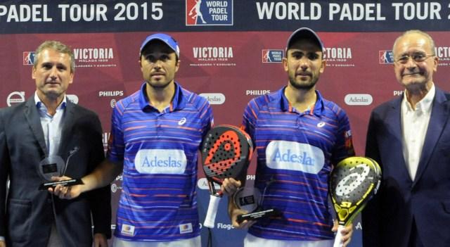 Ganadores World Padel Tour Malaga 2015