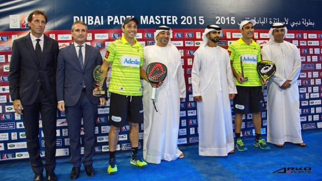 Ganadores World Padel Tour 2015 Dubai