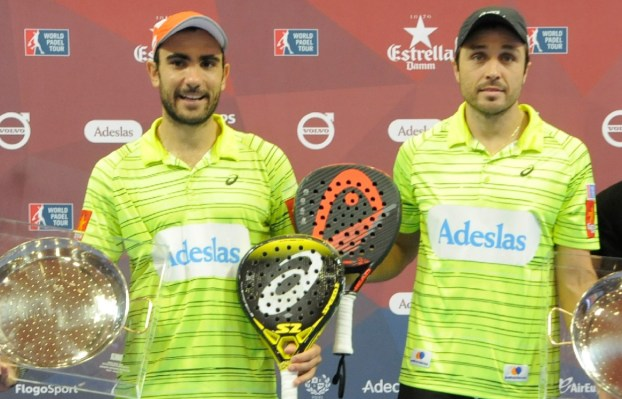 Ganadores World Padel Tour 2015 Valencia