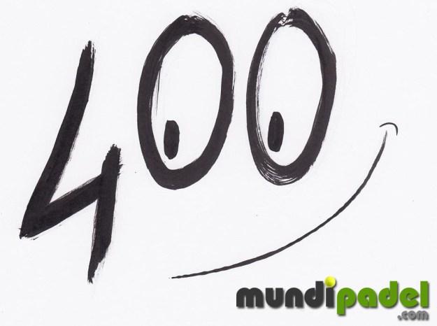 400 artículos en MundiPadel