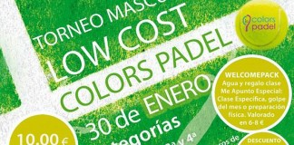 Low Cost de Colors Padel 2016