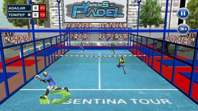 Heroes of Padel videojuego