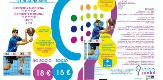 II Torneo Aniversario Colors Padel 2016