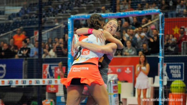 Ganadoras World Padel Tour 2016 Valencia
