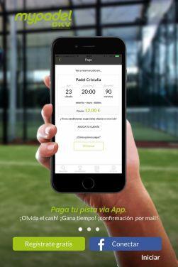MyPadel By DKV aplicación