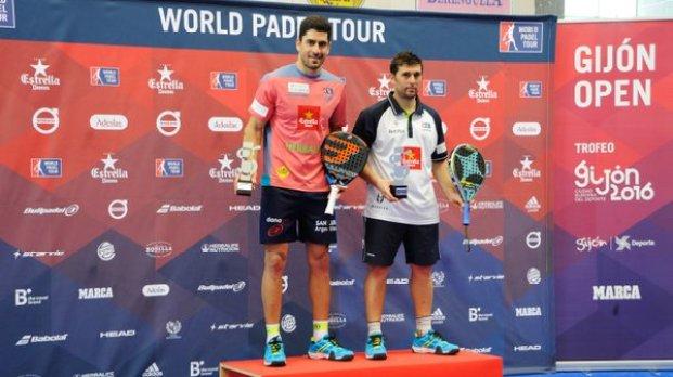 Subcampeones World Padel Tour 2016 Gijón