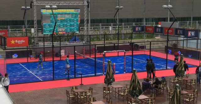 Padel en el Mutua Madrid Open 2016