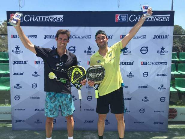 Ganadores World Padel Tour 2016 Barcelona