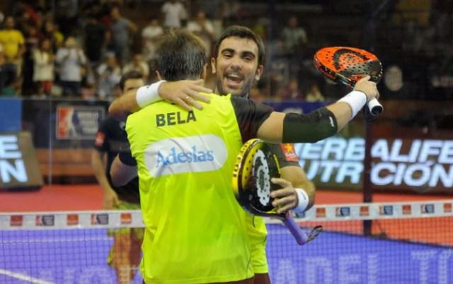 Fernando Belasteguín y Pablo Lima en el Sevilla Open