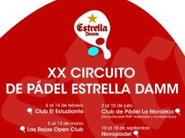 XX Circuito de Pádel Estrella Damm
