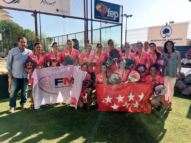 Madrid gana el Campeonato de España de Selecciones Autonómicas femenino