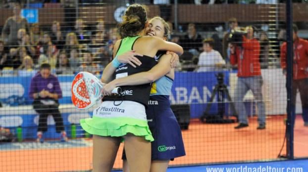 Marta Marrero y Alejandra Salazar ganan en A Coruña
