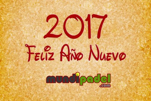 MundiPadel te desea Feliz 2017
