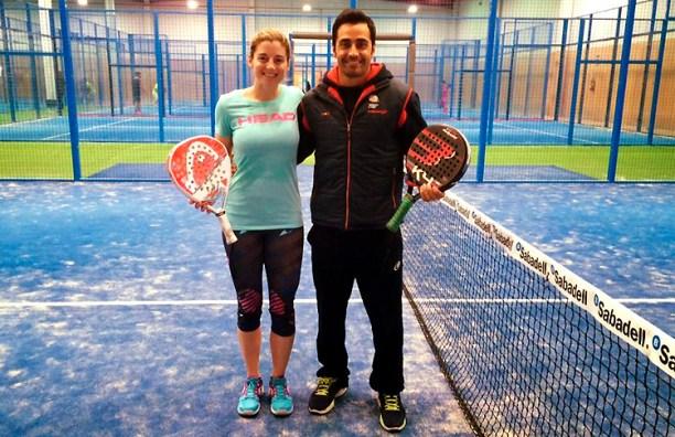 Manu Martín y Alejandra Salazar