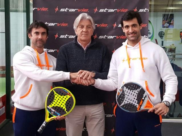 Pio Otero y Borja Yribarren renueva con StarVie