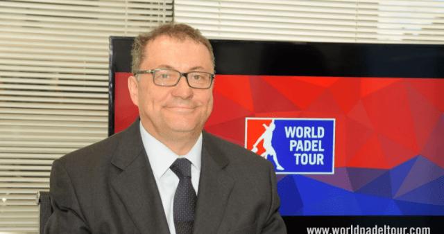 Ramón Agenjo presidente World Padel Tour