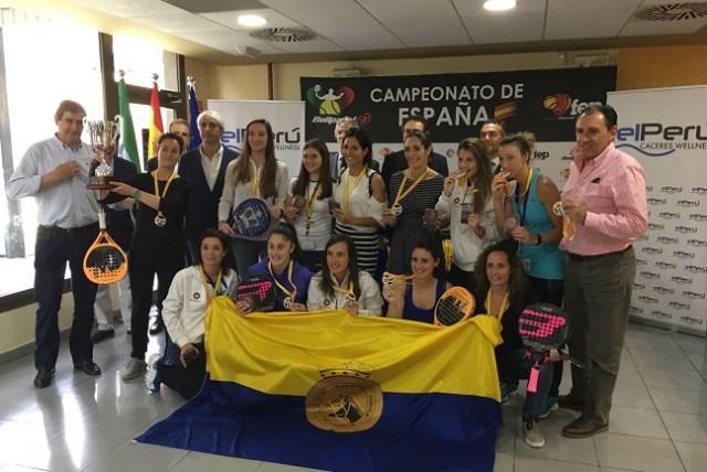 Ganadoras del Campeonato de España por Equipos de 2ª Categoría