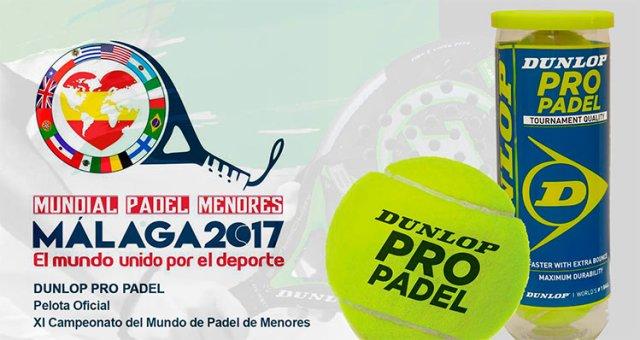 Dunlop pelota oficial mundial menores 2017
