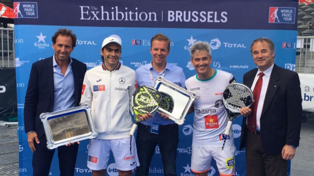 World Padel Tour Brussels Exhibition