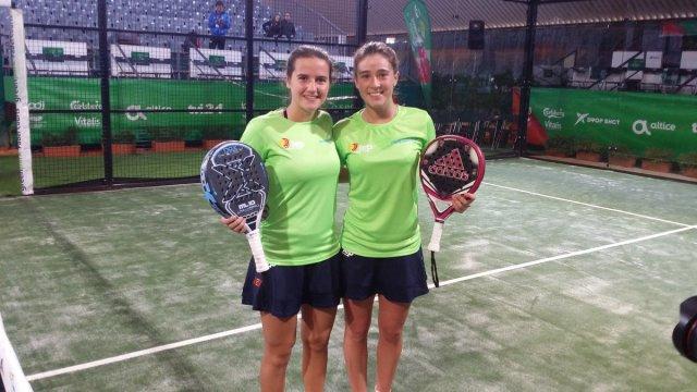 Ortega y Sánchez ganan el Europeo por parejas