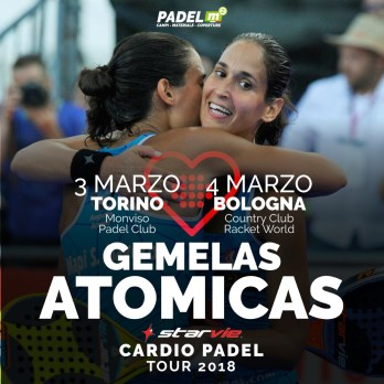 Cardio Padel Tour 2018  en Italia