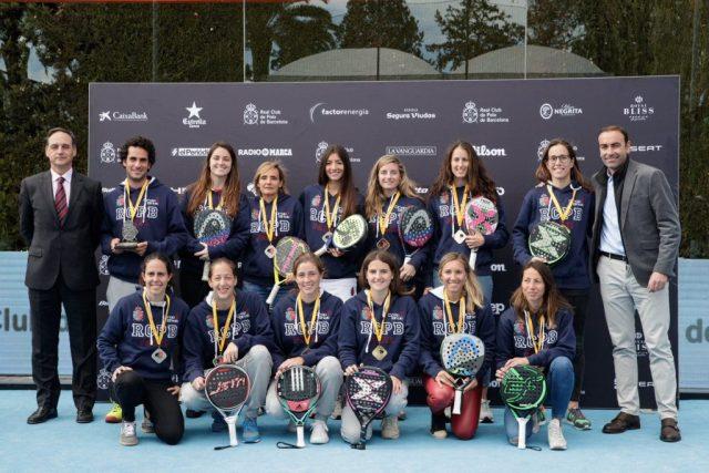 Ganadoras del Cto de España por Equipos