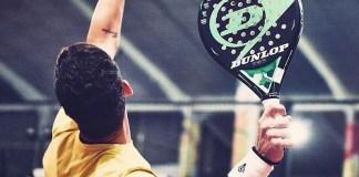 Ramiro Moyano con su Dunlop Galaxy