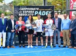 Campeonato de España Absoluto de Pádel 2018