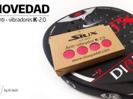Siux anti-vibradores K-Tech 2.0
