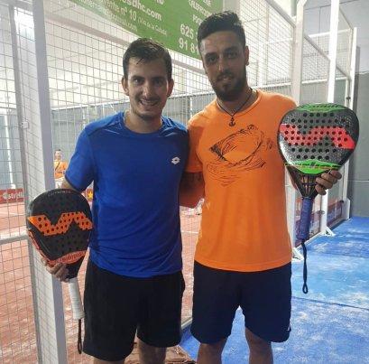 Juan Cruz Belluati y Pablo Lijo juntos