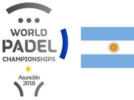 Argentina en el Mundial de Padel 2018