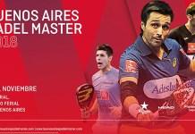 Buenos Aires Padel Master 2018