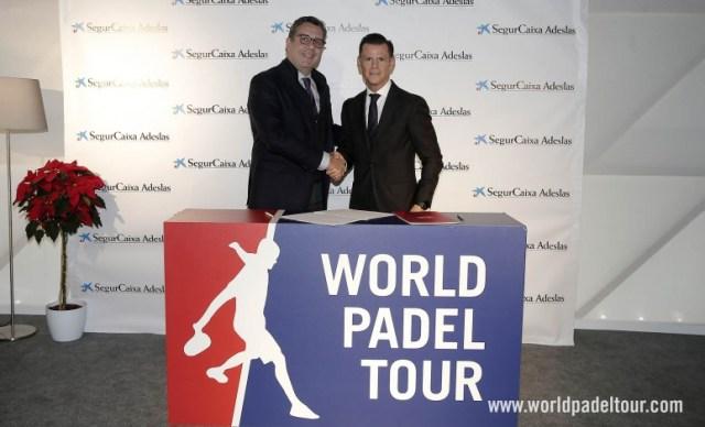 Adeslas, patrocinador oficial del World Padel Tour