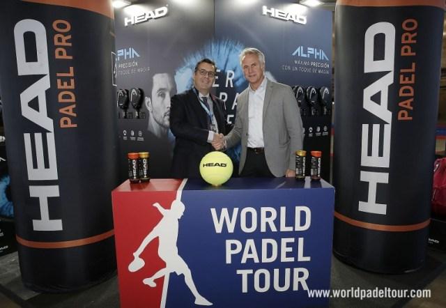 HEAD, pelota oficial del World Padel Tour