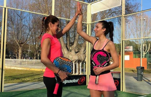 Vero Virseda y Lorena Alonso pareja 2019