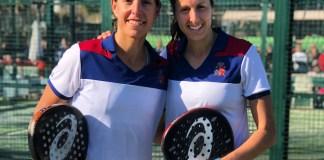Gemma Triay y Lucía Sainz números 1