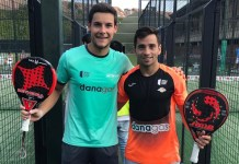 Parejas London Padel Master 2019