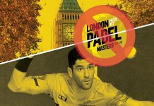 London Padel Master 2019 cancelado